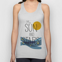 Game of Thrones - My Sun and Stars Unisex Tank Top by lapinette
