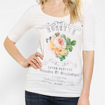 Truly Madly Deeply Rosette Ballet Top