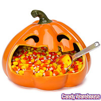 Halloween Large Mouth Pumpkin Candy Dish | CandyWarehouse.com Online Candy Store