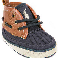 Ralph Lauren Baby Shoes, Baby Boys Parkstone Mid Booties - Kids Kids' Shoes - Macy's