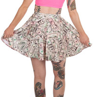 Rich Bitch Circle Skirt