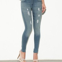G by GUESS Pull-On Super Skinny Jeans
