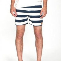 obey - men&#x27;s salty dog street swim trunk shorts (navy) - obey | 80&#x27;s Purple