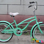20 Beach Cruiser Bicycle Micargi Jetta Girls Kids Children Bike Mint Green