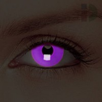 iD Lenses Violet Glow In The Dark Contacts