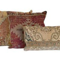 ANTIQUE RUG PILLOWS  | pillows  | accessories  | Jayson Home & Garden