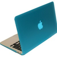 iPearl mCover Hard Shell Case for 11.6 Apple MacBook Air A1370 (Aqua)