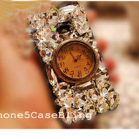 iPhone 5S case, iphone 5c case, iPhone 5 Case, Unique iphone 4 case, Bling iphone 4 case, iphone 5 bling case, vintage iphone 4 case watch