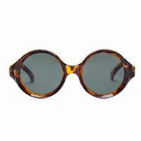 Full Circle Shades - Tortoise  in  Accessories Eyewear at Nasty Gal