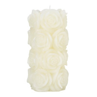 Rose Pillar Candle at LAURA ASHLEY
