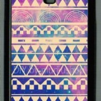 Samsung Galaxy S4 I9500 Case Hipstr Nebula & white Aztec Andes Tribal Pattern Samsung galaxy s4 case:Amazon:Cell Phones & Accessories