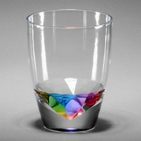 Amazon.com: Merritt Rainbow Diamond Drinkware, Type: Tumbler 14oz: Kitchen &amp; Dining
