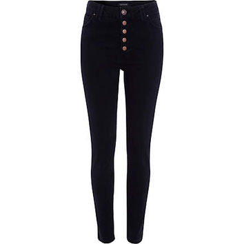 River Island Womens Black Etta superskinny jeans