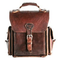 "Amazon.com: A Leather Backpack ""They'll Fight Over When You're Dead"": Clothing"