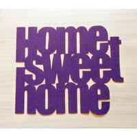 Supermarket: Home sweet home doormat from Xatara