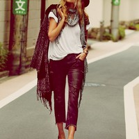 Free People Solstice Sequin Skinny