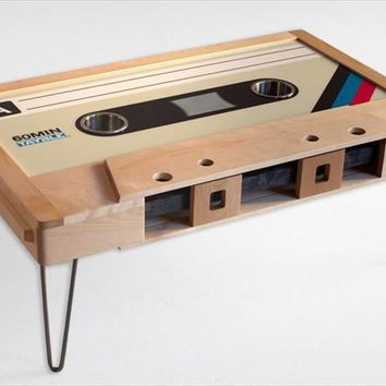 Buy Taybles Cassette Tape Coffee Table