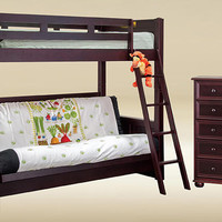 Heritage Twin over Futon Bunk Bed