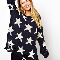 Wildfox | Wildfox Seeing Star Sweater at ASOS