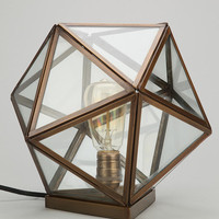 Magical Thinking Geo Table Lamp- Black One
