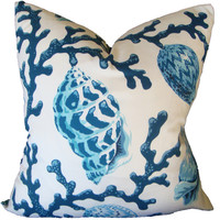 Shoreline - Lagoon Aqua Pillow