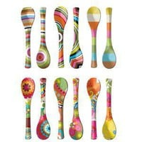 Give Simple - French Bull Salad Servers Set