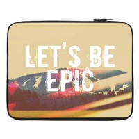 Artistic Laptop and Padbook Sleeves | Rachel Burbee | Lets Be Epic | Dianoche Designs
