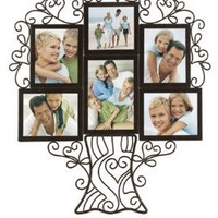 Malden Ironworks Family Tree collage Frame, 6 Opening
