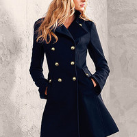 Wool Military Coat - Victoria's Secret