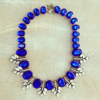 Pree Brulee - Sapphire Desert Lover Statement Necklace
