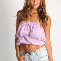 Soleil Blue Julia Tube top in orchid: Soleilblue.com