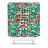 DENY Designs Home Accessories | Nicole Martinez Autumn Is Second Spring Shower Curtain