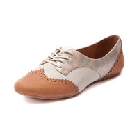 Womens Not Rated Party Pops Flat, Tan, at Journeys Shoes