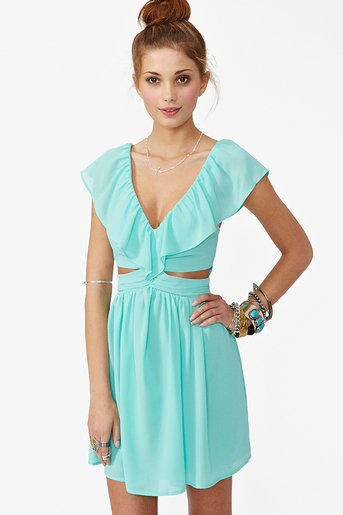 Lost Without You Dress - Mint in Clothes Dresses at Nasty Gal