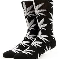 HUF Plantlife Black & White Crew Socks at Zumiez : PDP