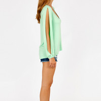 Vanna V-Neck Top $26
