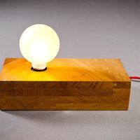 solid wood lamp billet by nordarchitectdesign on Etsy