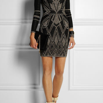 ALICE by Temperley | Ritz intarsia cotton-blend dress | NET-A-PORTER.COM