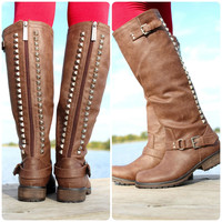 A Steep Climb Boot - Brown