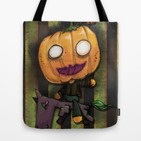 The Headless HorseBob Tote Bag by Ben Geiger