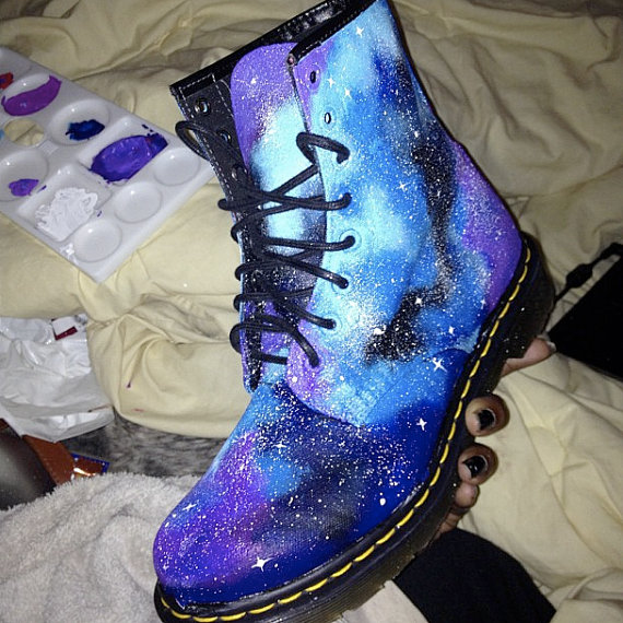 Customised Doc Martens Or Other Shoes From Blackspaniard On