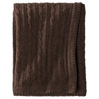 Circo® Knit Blanket - Brown