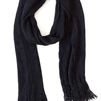 Timelessly Fashionable Scarf, Black