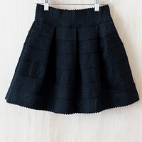 """Bandage"" Skirt, Black"