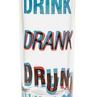 The 3D (Drink, Drank, Drunk) Shot Glass Set (4 Pieces)