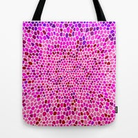 THINK PINK Tote Bag by catspaws