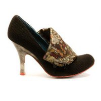 Irregular Choice | Womens | Heel | Flicker Flack (in black)