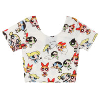 POWERPUFF GIRLS CROP TOP