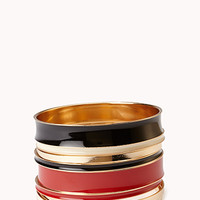 Colored Bangle Set