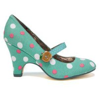 Irregular Choice | Womens | Poetic Licence | Poetic Licence Apple Pie (in turquoise)